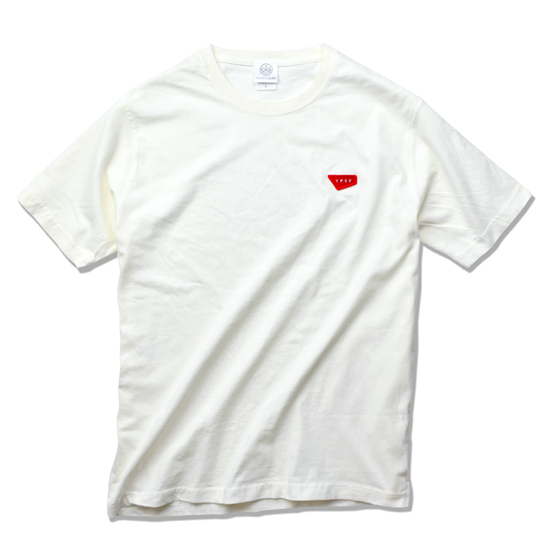 YFSF  Patch Pigment Dyed Tee【Vintage Off White】