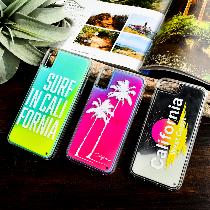 【iPhoneXR/XS/X/8/7】Neon sand iPhone case