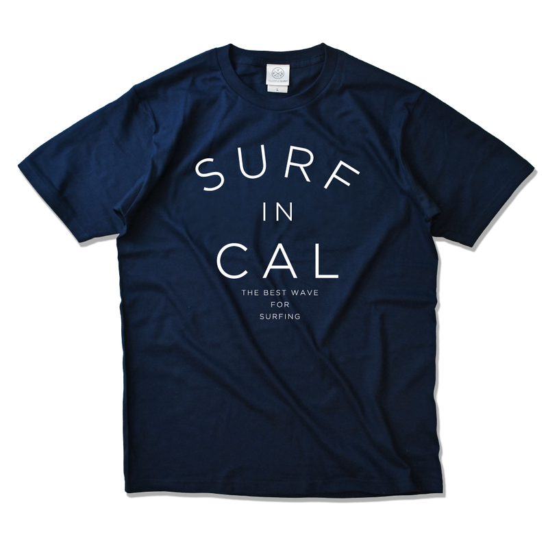 SURF IN CALIFORNIA  Tee  【Navy】