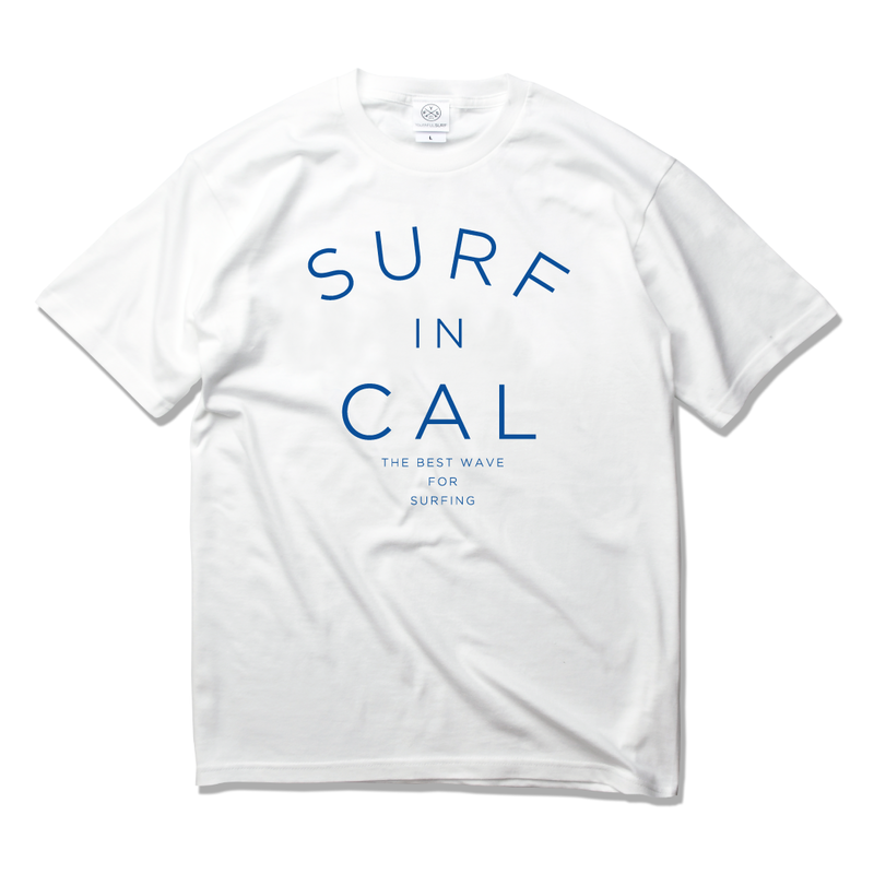 SURF IN CALIFORNIA  Tee  【White】
