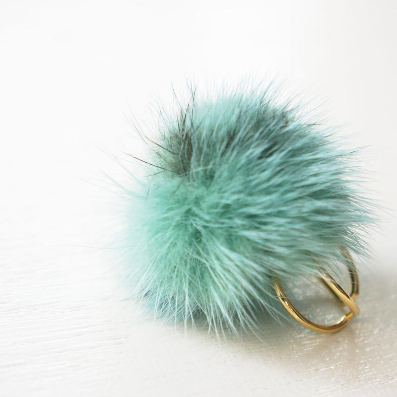 furball RING skygreen