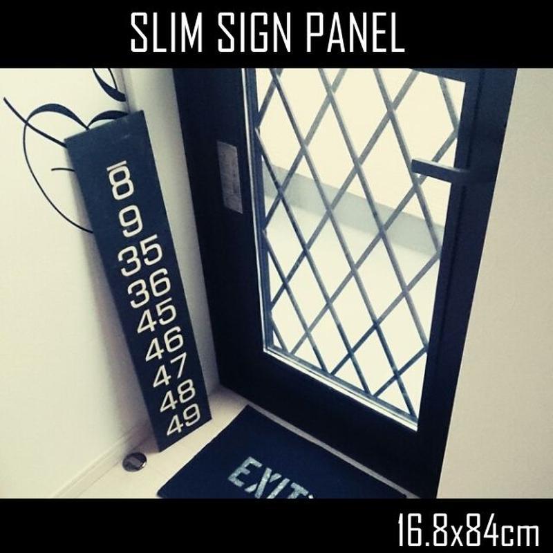 スリムバスサイン