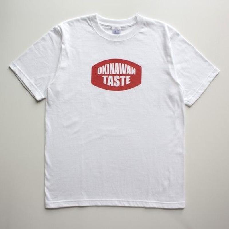 OKINAWAN TASTE ロゴTシャツ(White×Red)