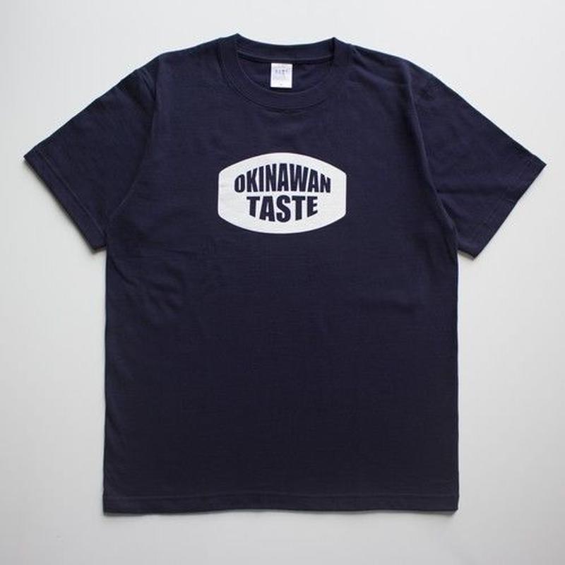 OKINAWAN TASTE ロゴTシャツ(Navy×White)
