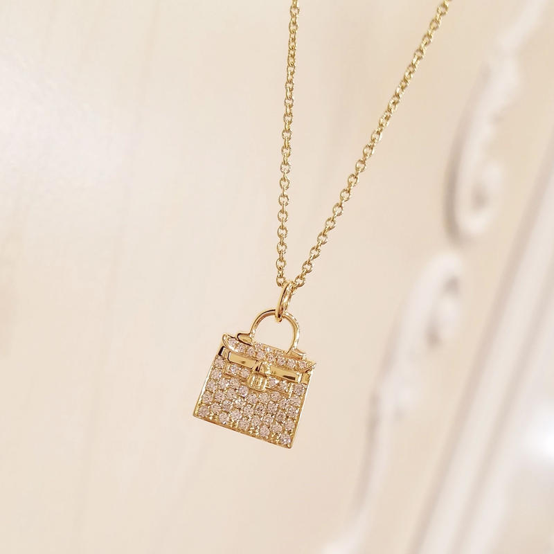 22041-689 K18YG D0.35ct BAG/N