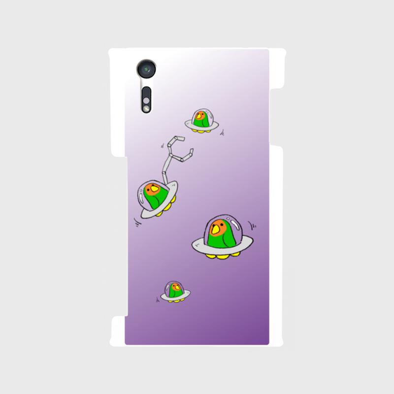 【Android】こざくらUFOスマホケース[宇宙]【送料無料】