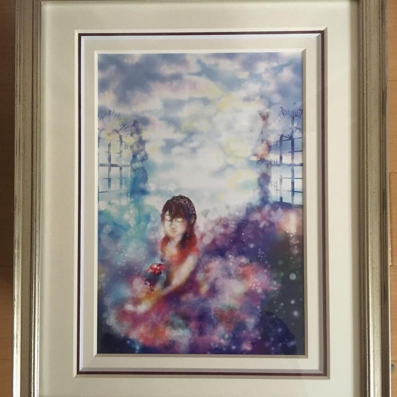インテリア絵画「風の吹く日」