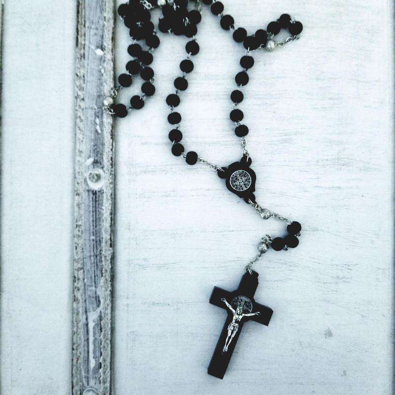 -BLACK- Rosary
