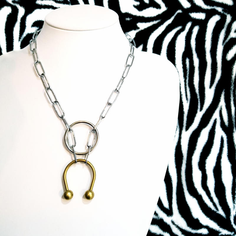 Gold×Silver Necklace