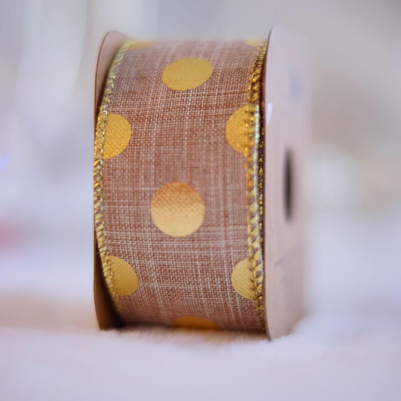 hemp gold dots natural