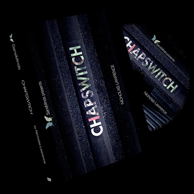 チャップスイッチ<お札がリップクリームに変化>【X55811】Chapswitch by Nicholas Lawrence and SansMinds