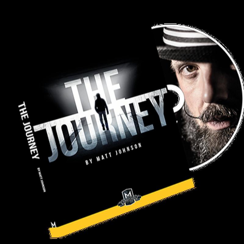 ジャーニー<ACAANの5つの手法を解説したDVD>【X58658】The Journey (DVD and Gimmick) by Matt Johnson