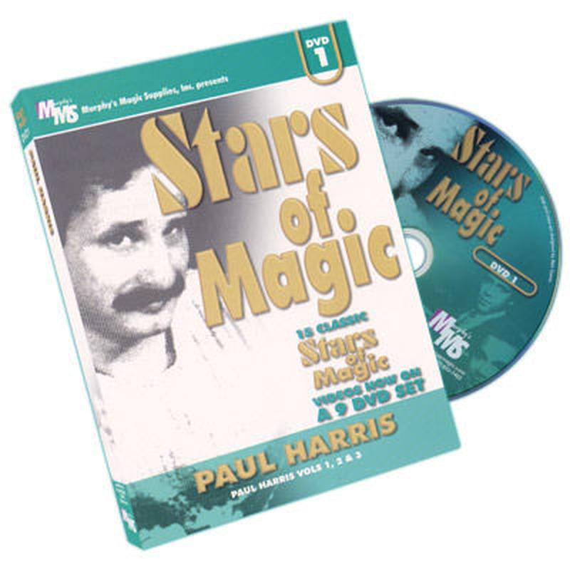 スターズ・オブ・マジック#1(ポールハリス)<天才の傑作集>【M43899】Stars Of Magic #1 (Paul Harris) - DVD