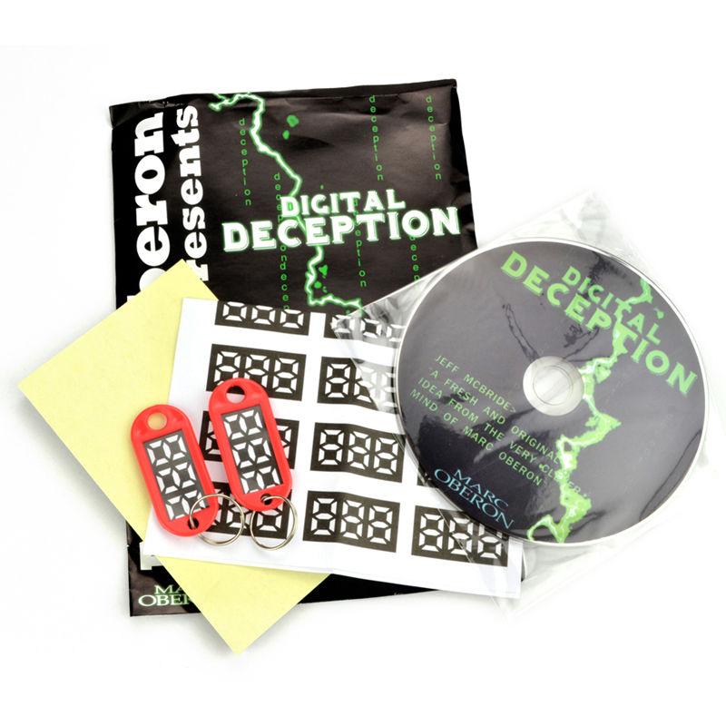 ディジタルディセプション<相手が言った数字がキータグに印刷されている>【G1060】Digital Deception by Made in China