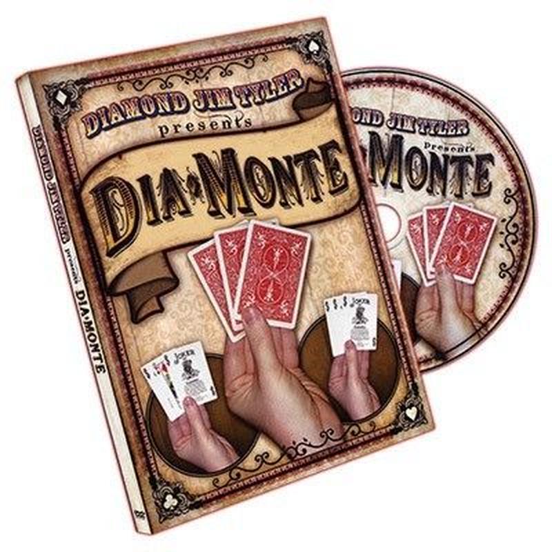 ダイアモンテ<<観客を飽きさせないボリューミーなモンテ>【F0043】DiaMonte (DVD and Cards) by Diamond Jim Tyler