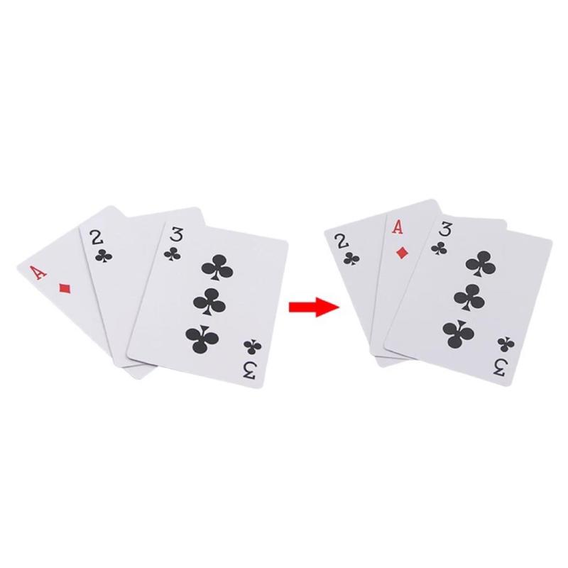 スリーカードモンテ(赤)<シンプルなギミックカードモンテ>【A1009】3 Card Monte