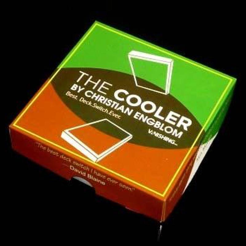 クーラー<精巧なギミックによるデックスイッチ>【D3003】The Cooler by Christian Engblom