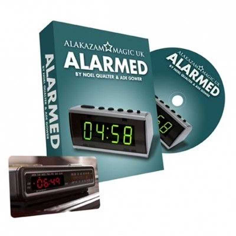 アラームド<観客の予言が写真に>【X47391】Alarmed (Gimmicks and Online Instructions) by Noel Qualter & Ade Gower
