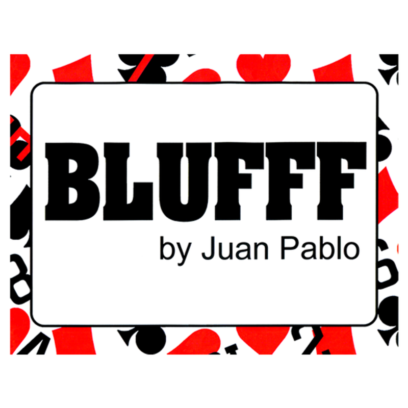 ブラフ<赤ちゃんからブラット・ピットに変化>【M62800】BLUFFF (Baby to Brad Pitt) by Juan Pablo Magic