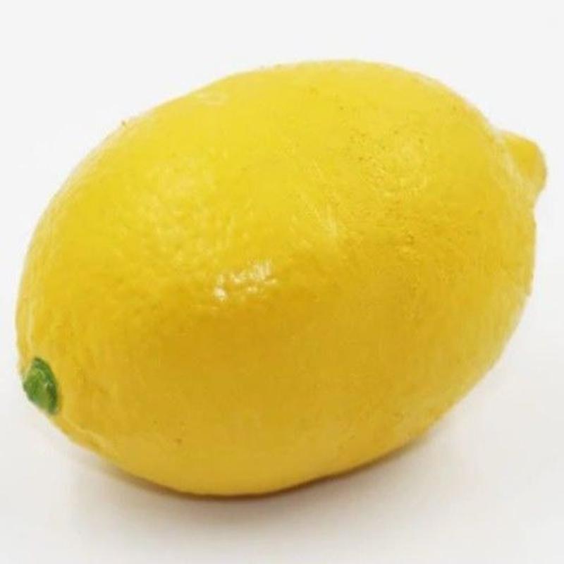 ラバーレモン<リアルなゴム製のレモン>【X0034】Rubber Lemon