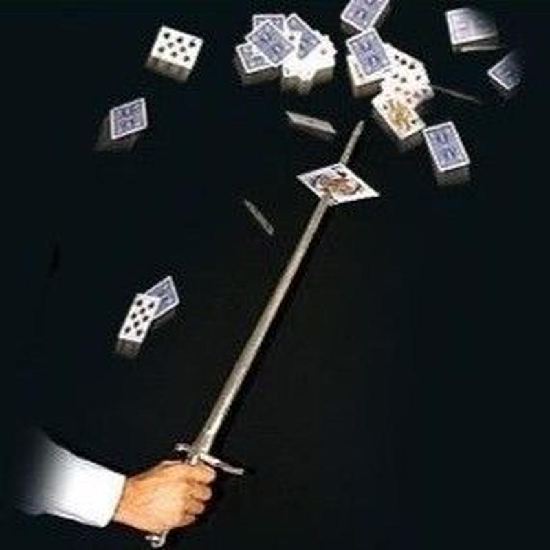 カードソード【G0117】Sword Thru Cards by KING MAGIC