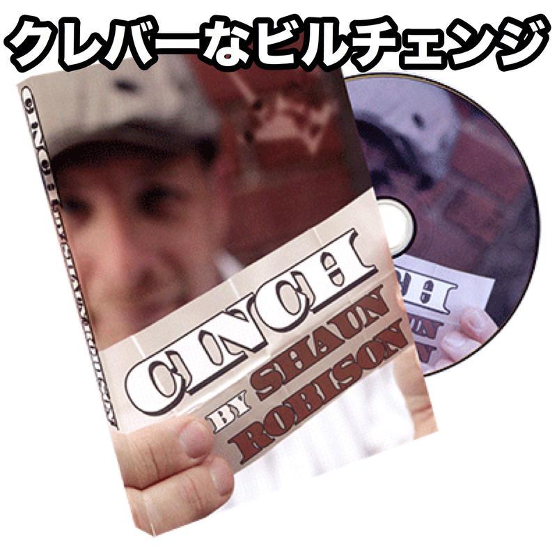 シンチ【F0006】Cinch (DVD and Gimmick) by Shaun Robison & Paper Crane Productions
