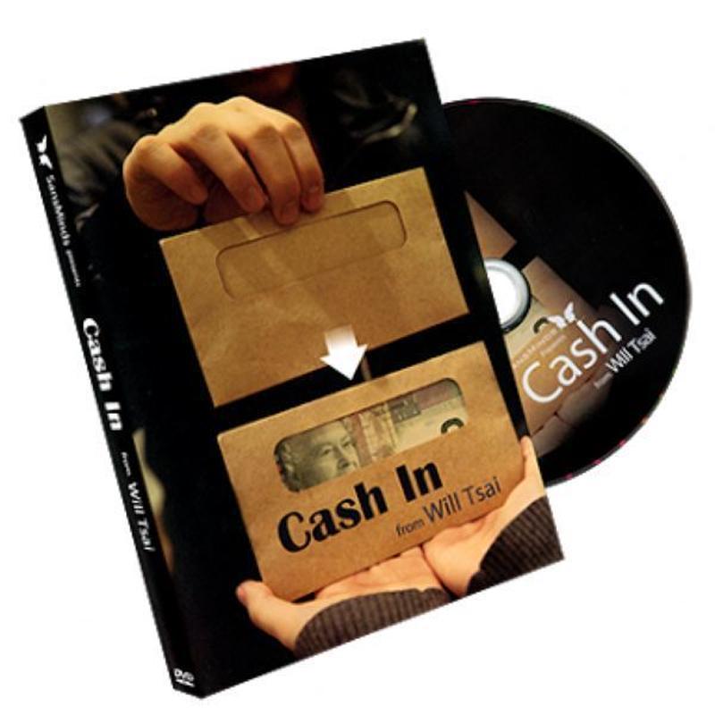 キャッシュイン<窓付き封筒に瞬間出現>【Y0016】Cash In by Will Tsai