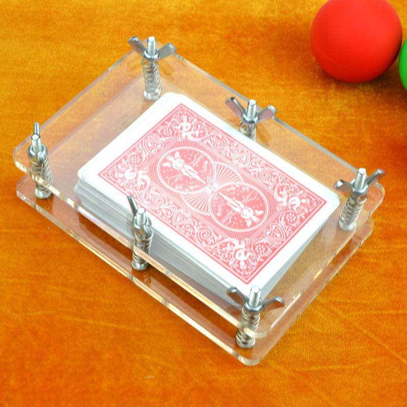 クリスタル・カードプレス<デックを均一にプレス>【G0749】Crystal Card Flatten