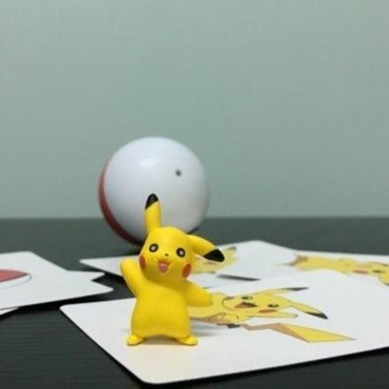 ポケモンゴーカード<ピカチュウの出現>【H0006】I Get A Pikachu!