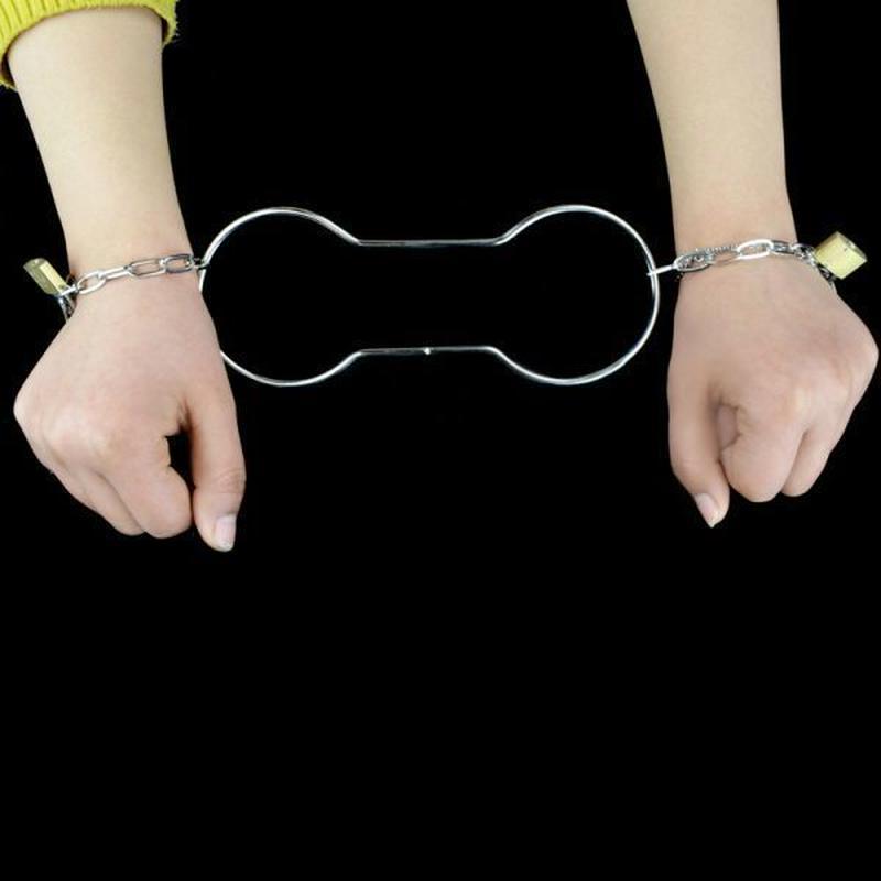 脱出ハンドカフ<エスケープマジックの傑作>【G0093】Handcuff Escape