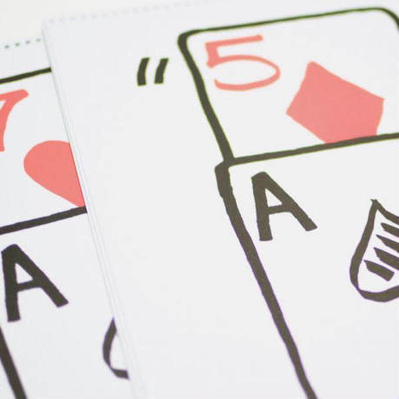 リフィル:スケッチパッド・カード・ライズ(ハート7・ダイヤ5)Refill For Signature Edition Sketchpad Card Rise (12 pack)