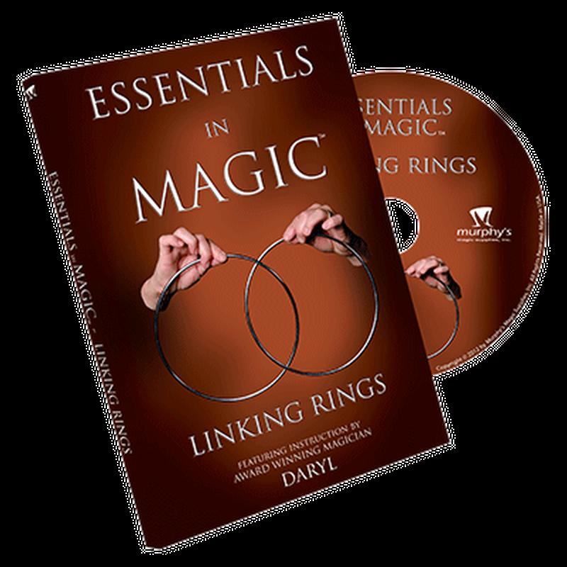 エッセンシャルズ・イン・マジック・リンキングリング<ダローの日本語吹替DVD>【M49327】Essentials in Magic Linking Rings  -DVD