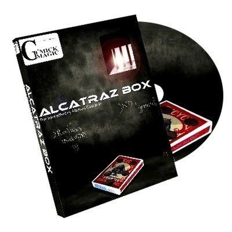 アルカトラズ・ボックス<穴あきケースの驚愕マジック>【Y0205】ALCATRAZ BOX by Mickael Chatelain