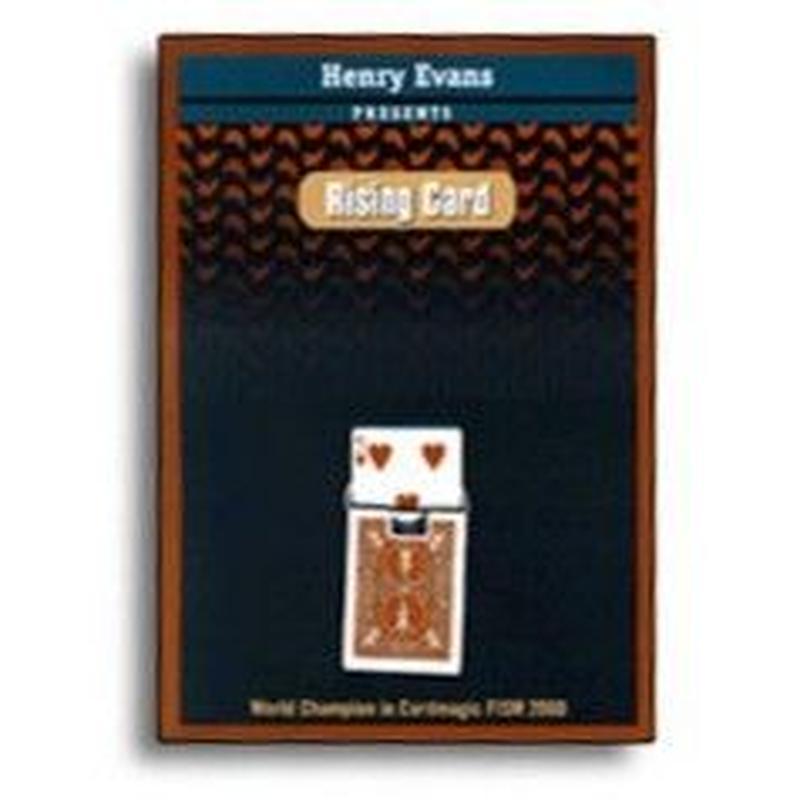 ライジングカード【M39587】Rising Card  by Henry Evans