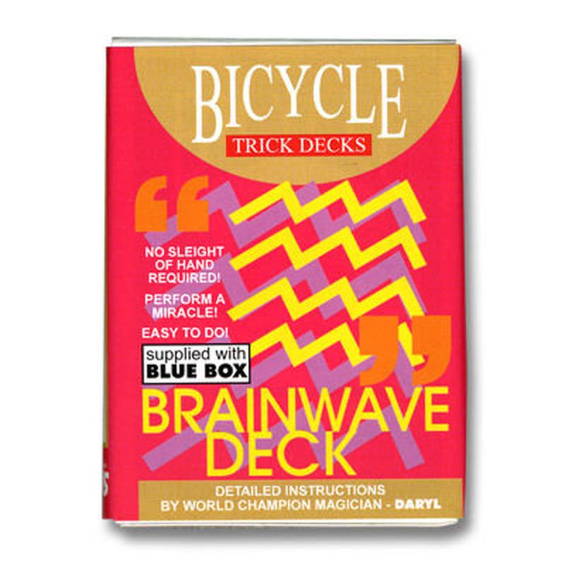 ブレインウェーブデック<名作のメンタルカードマジック>【M37490】【M36503】Brainwave Deck Bicycle