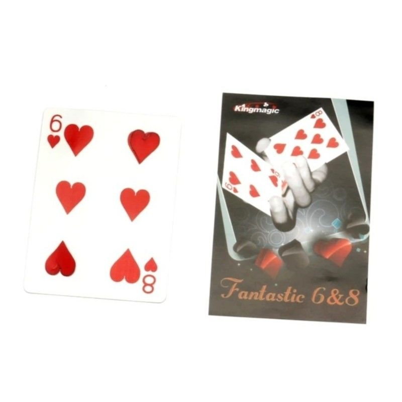 ファンタスティック8&6【G0317】Fantastic 4&6/original bicycle card