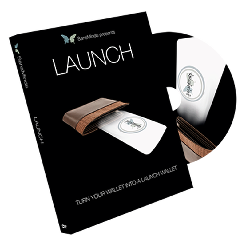 ラーンチ<財布に仕込める極秘の小型発射装置>【M55812】Launch by SansMinds