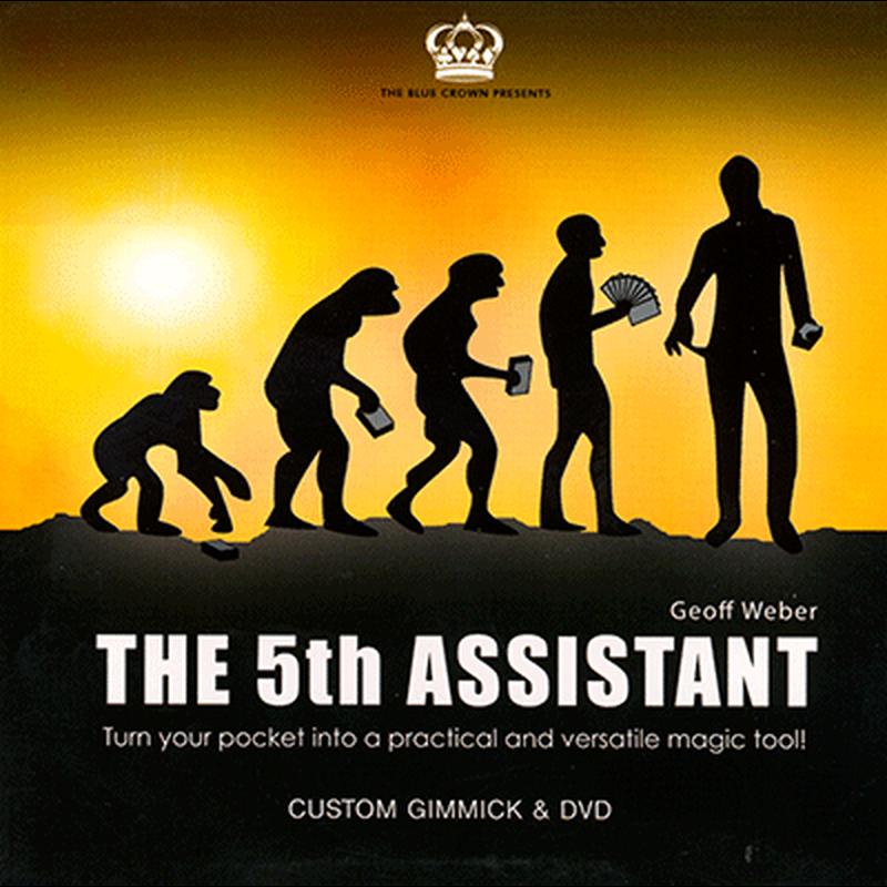 フィフス・アシスタント<実用的ポケットギミック!>【M49318】5th Assistant (Gimmick and DVD) by Geoff Weber and The Blue Crown