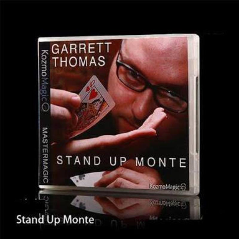 スタンド・アップ・モンテ<実用的なモンテ>【M47868】Stand Up Monte (DVD and Gimmick) by Garrett Thomas