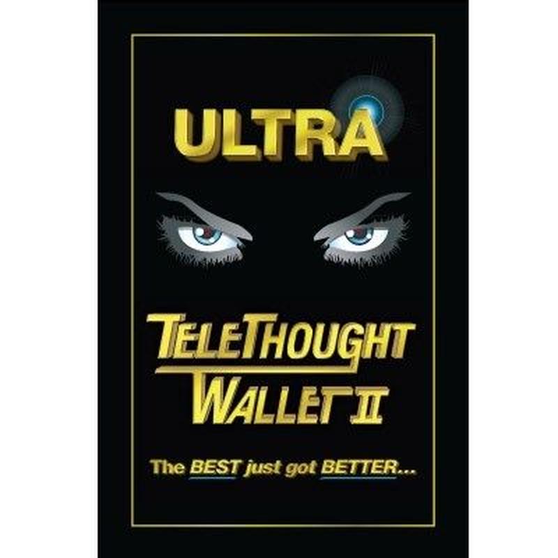 テレソート・ウォレット2<完璧なピーク名刺入れ>【M47373】Telethought Wallet (VERSION 2) by Chris Kenworthey