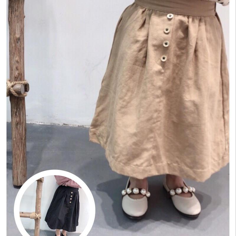 シンプルギャザースカート