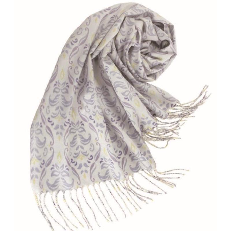 結城紬のショール フルーリ アラベスク 54412-4PTGLY