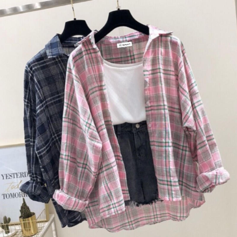チェックシャツ(2色)