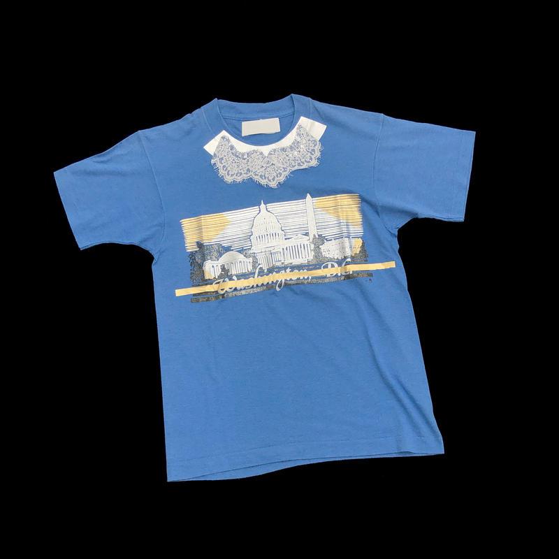 T-shirts Lace - BLUE
