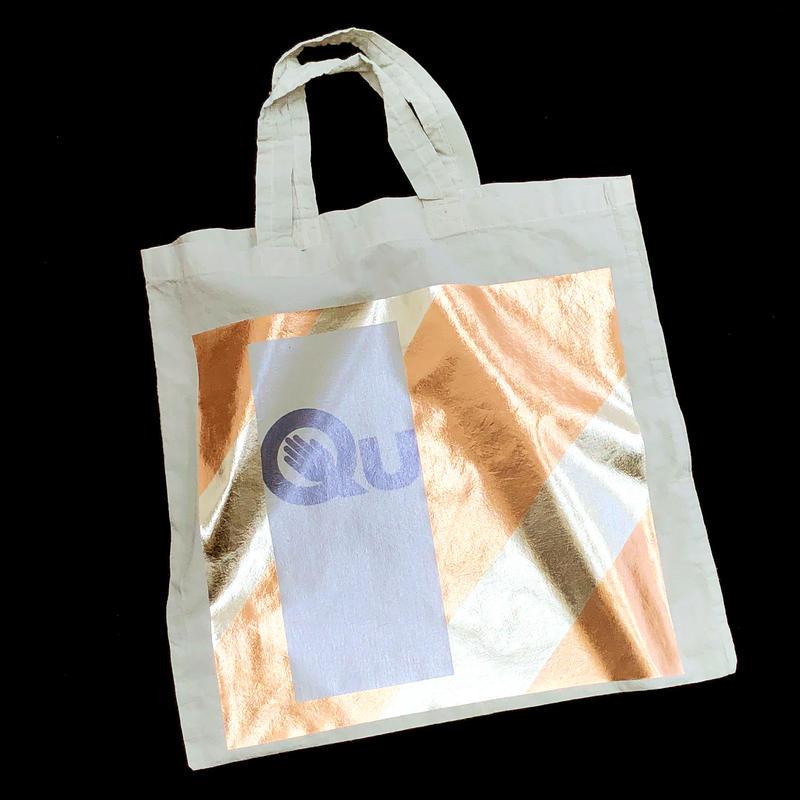Foil tote bag - MINT
