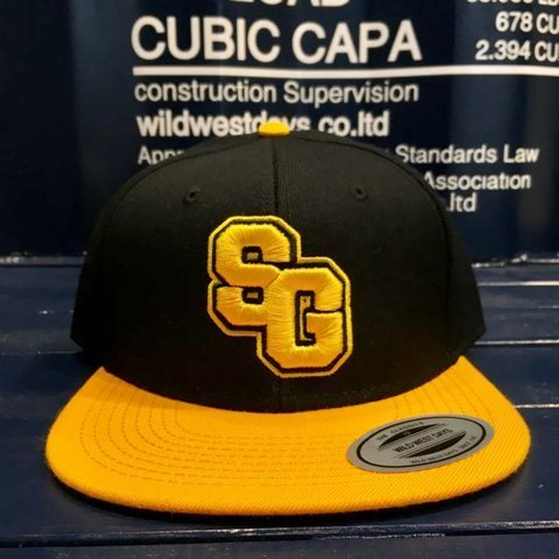 "STREET GAME CAP  ""SG"" (Black/yellow)"