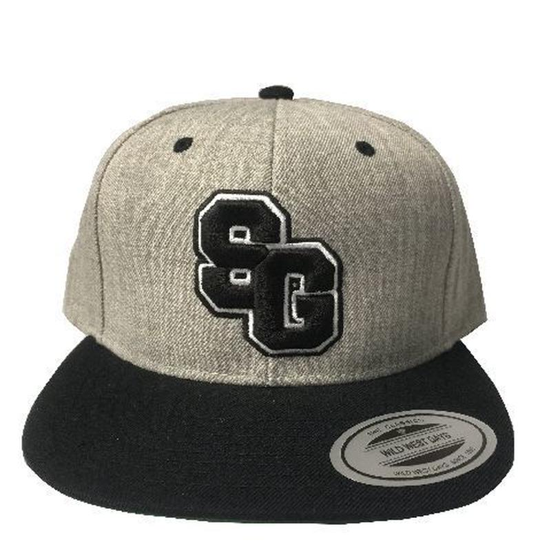 "STREET GAME CAP ""SG"" (gray / black)"