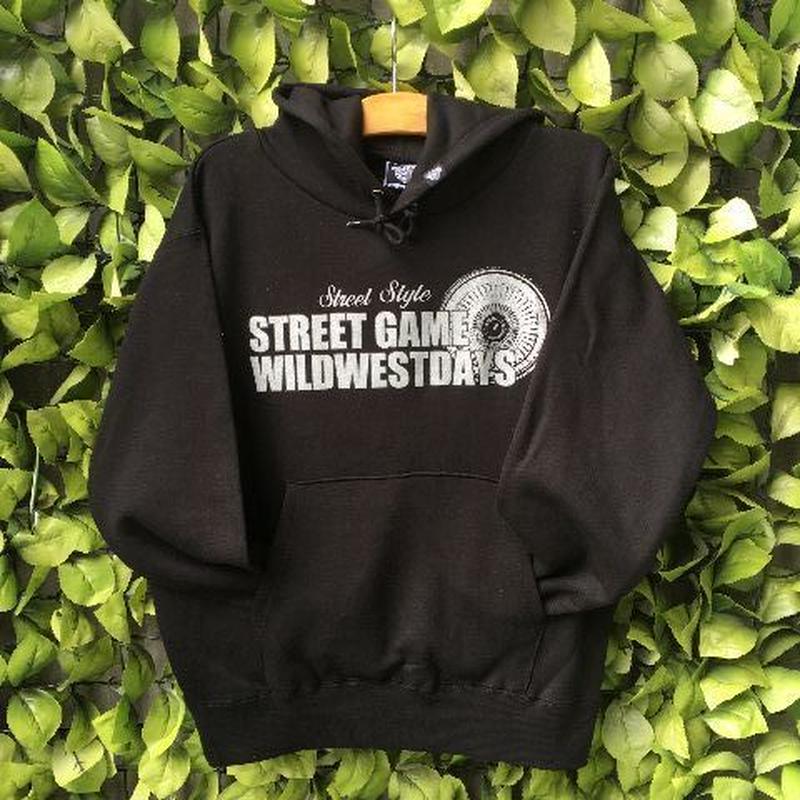 WILDWESTDAYS  HOOD / STREET GAME (blue / white)