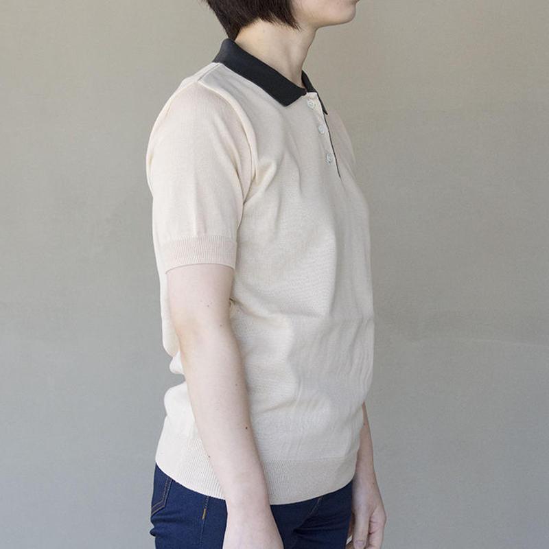 ポロシャツ / L.Beige