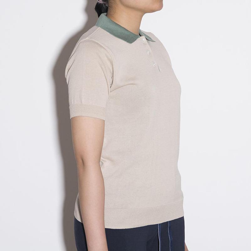 ポロシャツ / Cream